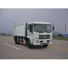 Dongfeng 4x2 garbage truck manufacturers working company