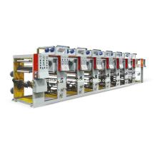 1-8 Máquina de impressão de rotogravura de cor