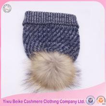 Moda nova tendência malha chapéu cachecol e conjunto de luvas