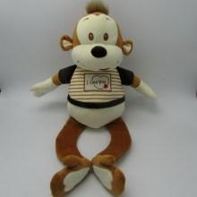 Nóng bán đồ chơi nhồi bông khỉ với túi kẹo (FLWJ-0092)