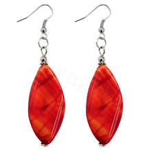 Natural Gemstone Agate Earring