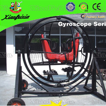 Two Person Gyroscope with Safety Net
