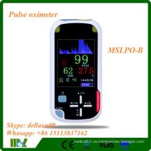 2016 Oxímetro de pulso portátil más barato con Bluetooth inalámbrico Funciton MSLPO-B
