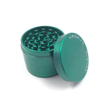 Newest Chrome Plated Herbal Grinder with Smoke Cigar Crusher (ES-GD-011-M)