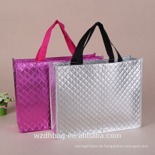Luxus-bestste Einkaufstasche lamellierte faltende nicht gesponnene Tasche