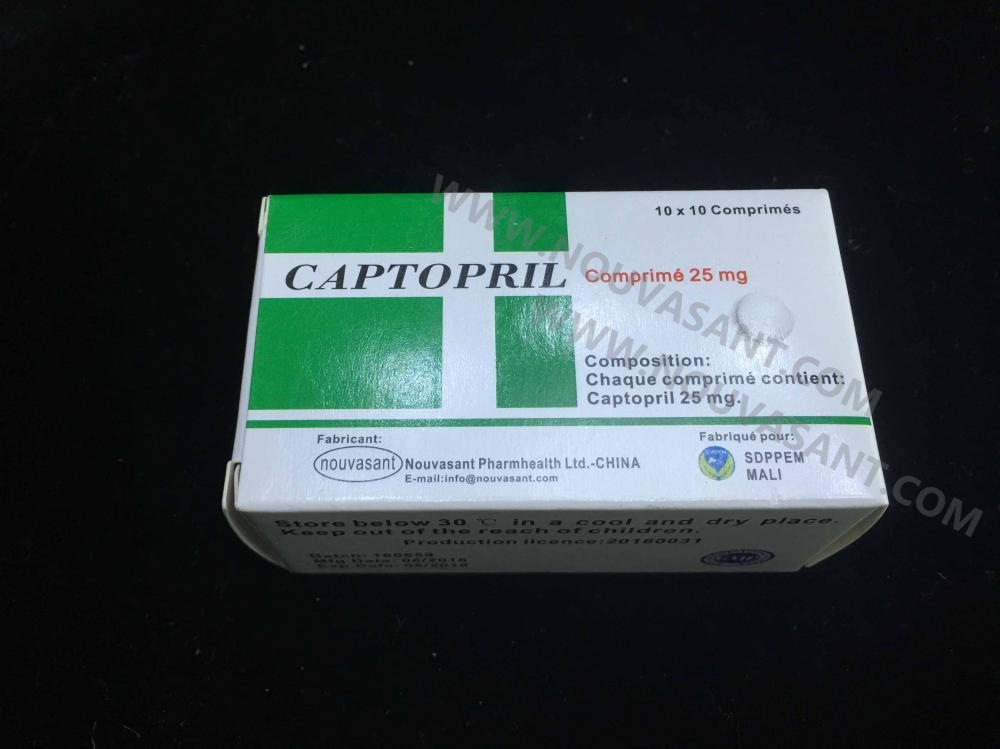 Captopril Tablets 25mg