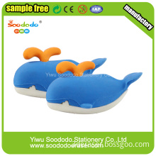 Ocean Whale Shaped Eraser Novelty Design For Students