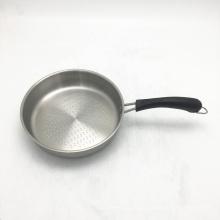 Prix bas promotionnel poêle à frire en acier inoxydable de 8 pouces pan sans poêle