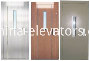 Home / Residential Lifts Semiautomatic Doors