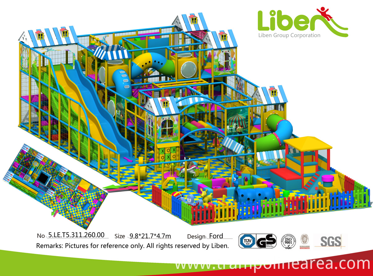 Large Indoor Playground