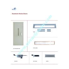 Aufzug Schwingtür, Aufzug Halbautomatische Tür, Aufzugsschließer