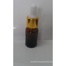 15ml Amber Screwed High Quality Glass Dropper for Essential Oil