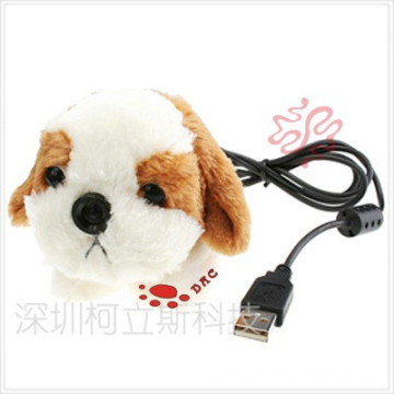Plush Dog Photography Head Toy