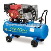 Zhejiang 200L 5.5HP 8bar gasolina / diesel compresor de aire 8CFM