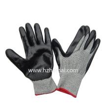 Hppe Liner Coated Nitrile Cut Resistant Mechanix Gloves Wok Glove