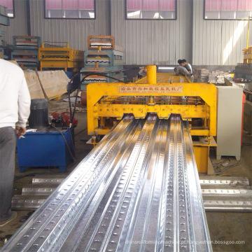Galvanizado chapa de aço piso Deck Máquina Perfiladeira