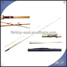 FYR001 2 sections canne à pêche en bambou