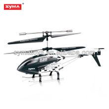2.4G diente azul SYMA S36 3.5-canal RC Helicóptero GYRO con el removedor del LCD