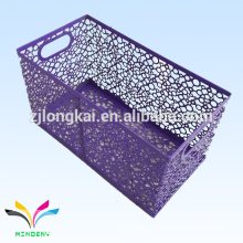 Home and office supplies metal mesh toy storage basket for sale