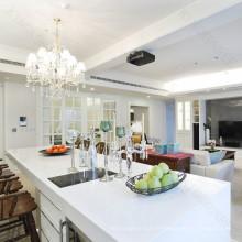 Comptoir de cuisine antibactérien et en marbre hygiénique