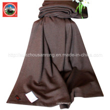 Yak Wool Fulling-Milling Blanket/ Cashmere Fabric/ Camel Textile/Bed Sheet/Bedding