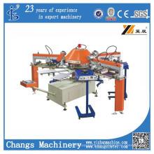 Máquina de impresión de pantalla rotativa automática serie Spg