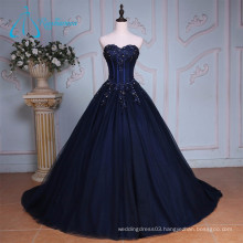 Chapel Train Royal Blue Modern Western Quinceanera Dresses