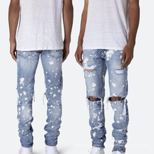 Cheapest Product Fall Autumn Ripped Hip Hop Fashion Jeans Pants Mens Jeans