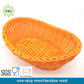 Plastic Rattan Fruit and Bread Basket