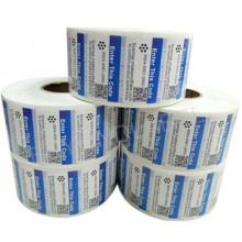 Autocollant autocollant imprimé couleur imprimé pour l'emballage