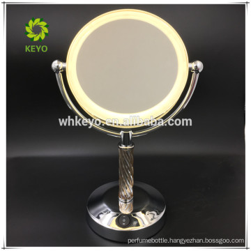 2017 trending products makeup mirror with light bathroom mirror led cosmetic mirror