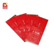 Bolsas de té de papel de aluminio con impresión mate BOPP