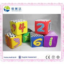 Bebê Multi-coloridos Blocos Suaves Preschool Educational Figure Toy