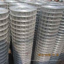 Acoplamiento de alambre soldado galvanizado para la construcción usado