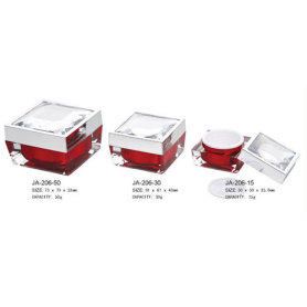 Cosmetic Containers Small Glass Acrylic Jars With Lids