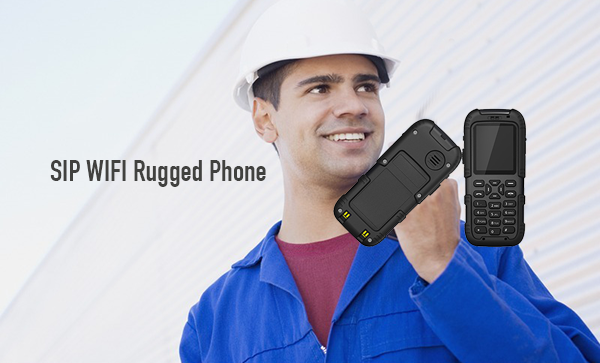 SIP WIFI Rugged Phone