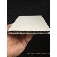 Paneles de sándwich de núcleo corrugado de aluminio para Moble Home