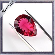 Burma Vivid Red Millennium Cutting Synthetic Ruby
