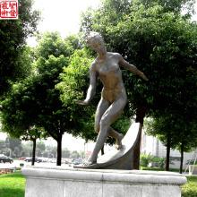 2016 Nueva escultura de bronce del retrato de la escultura del retrato del bronce para al aire libre