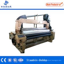 Máquina de tecelagem da tela alta do poliéster da tela da produção que derrama a máquina do tear do jato de água