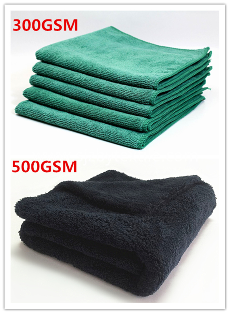 Plush Microfiber Towels