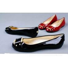 Nuevo estilo de zapatos de mujer de moda (HS13-076)
