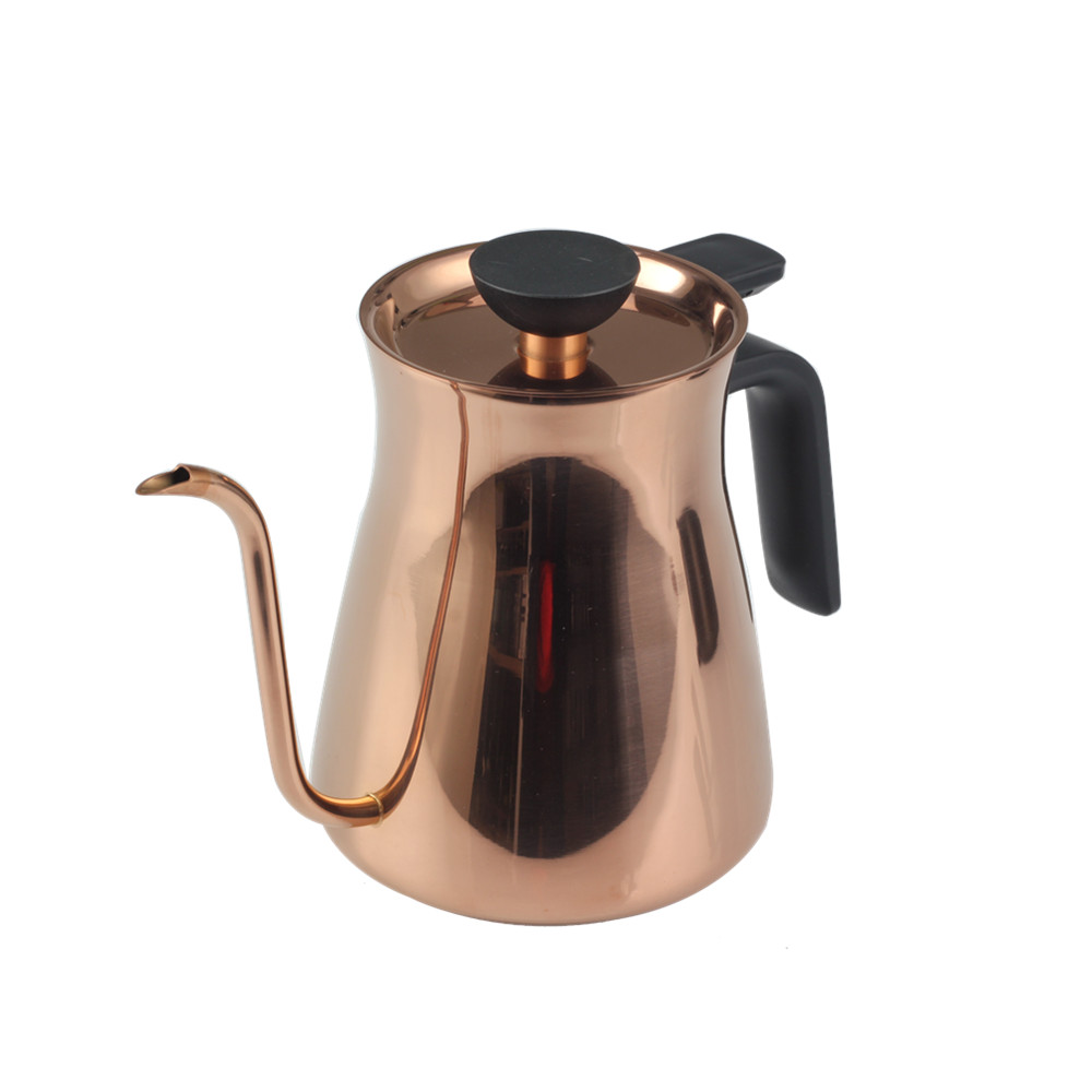 Gooseneck Spout Copper Coffee Pot