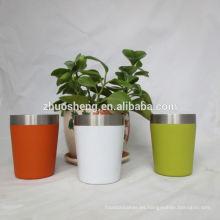 tazas de té impreso personalizado de alta calidad de impresión de la insignia de encargo