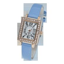 China manufacturer new model women luxury square shape lady dress watch