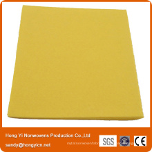 Non-Woven Fabric Cleaning Cloth, Viscose/Polyester Fabric Needle Punched Cloth