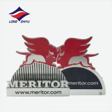 Zinc alloy company special custom logo name card holder