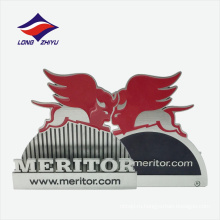 Сплава цинка компании специальный логотип имя карты держатель