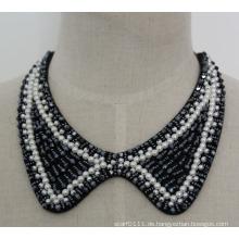 Modeschmuck Perle Kristall Choker Halskette (JE0056-1)