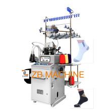 3.5 simples máquina de duas meias de alimentação